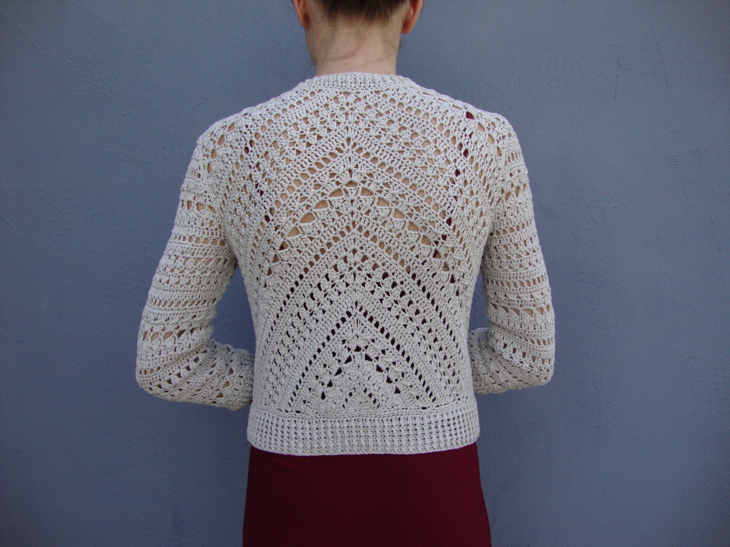 Crochet jacket PATTERN detailed TUTORIAL by CONCEPTcreativeSTORE