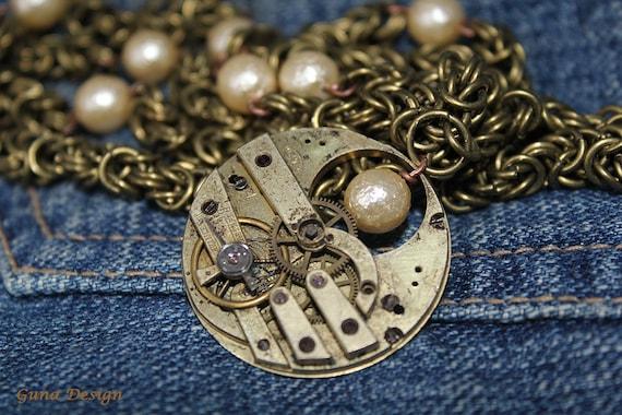 Steampunk Vintage Clockwork Jewelry