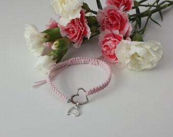 Sweet Heart String Bracelet