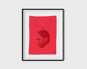 A4 'Obama x Playboy' Portrait