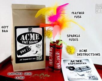 ACME TNT Sticks - Catnip Cat Toy