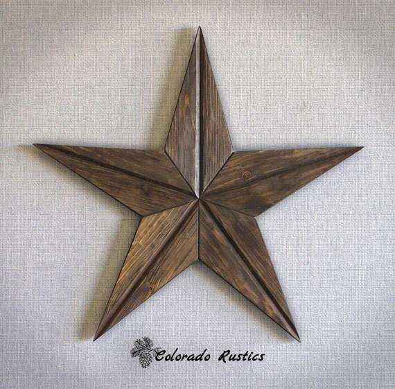 rustic star wood wall art texas star wall d cor by coloradorustics. Black Bedroom Furniture Sets. Home Design Ideas