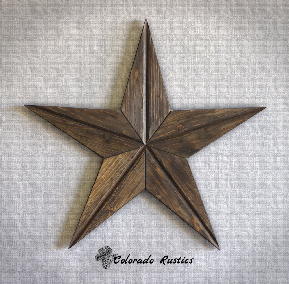 Rustic star wood wall art texas star wall d cor by coloradorustics - Stars for walls decorating ...