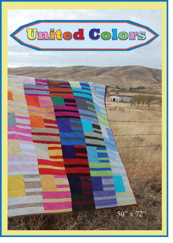 United Colors -- A Fresh New Urban Folk Pattern from Blue Nickel Studios.