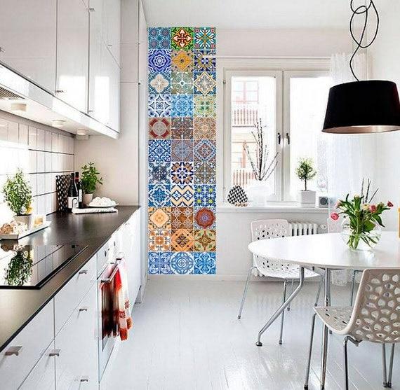 portugiesische fliesen patterns fliesenaufkleber k che fliesenaufkleber badezimmer fliesen. Black Bedroom Furniture Sets. Home Design Ideas