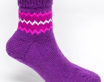 SALE PRICE : Anklet Border Socks