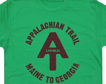 Appalachian Trail T Shirt Hiking T Shirts Camping T Shirts Canoe T Shirts Vintage T Shirt Mens Hiking T Shirt Womens Hiking Kids Youth Tees