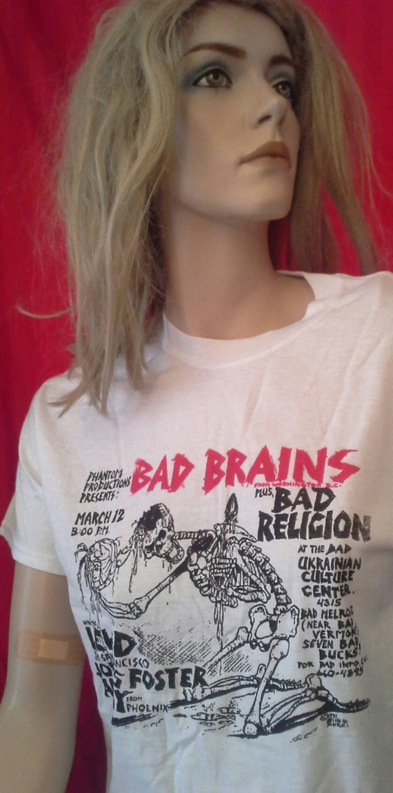 Bad Brains Skull Bad Brains Shirt Unworn Bad