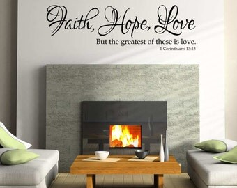 Faith Hope Love Etsy