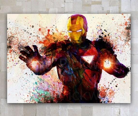 T l charger num rique affiche de iron man the avengers par goldidi - Iron man telecharger ...