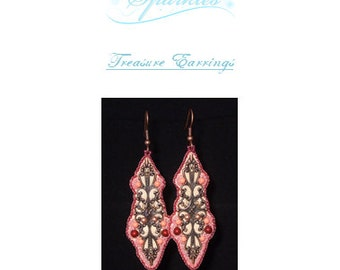 Treasure Earrings Kit - Silver Colourway