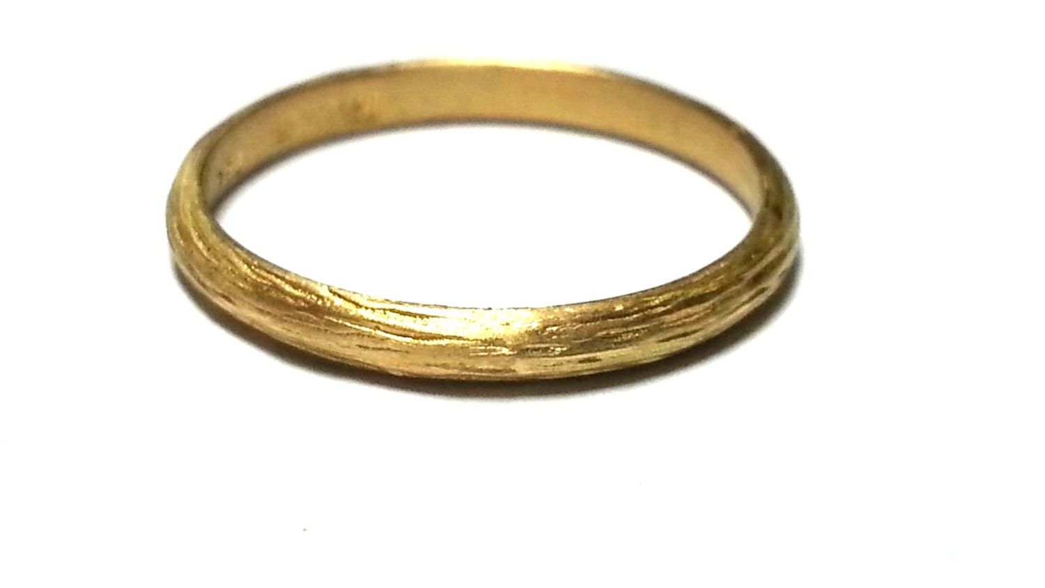 thin gold wedding band gold ring his and hers by jkashi1889