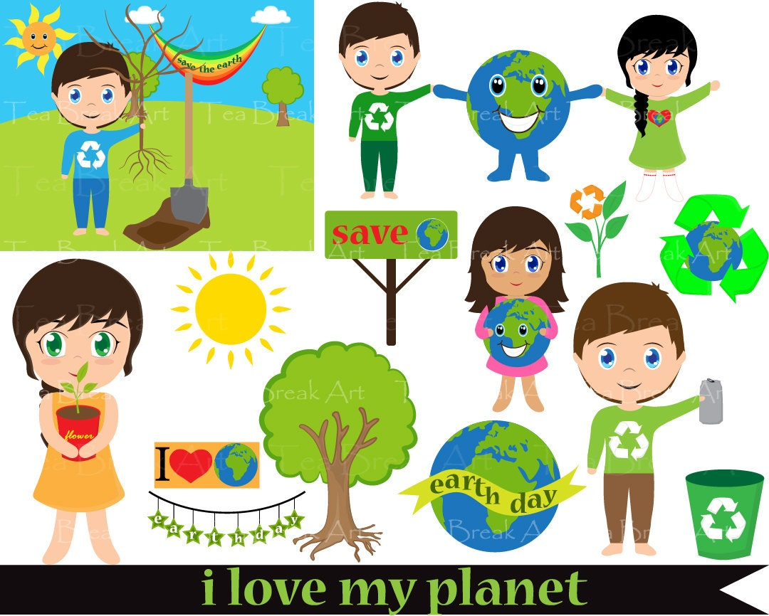 clipart save the earth - photo #23
