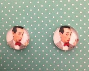 Pee Wee Herman post earrings II