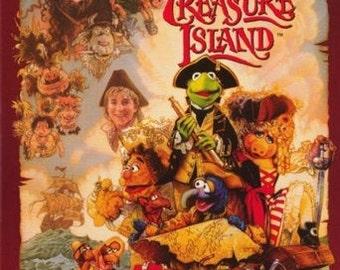 Muppet Treasure Island  Rare Vintage Poster