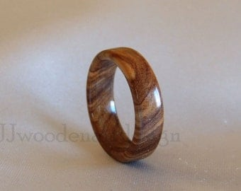 Wood Ring, Olive Wood ring,