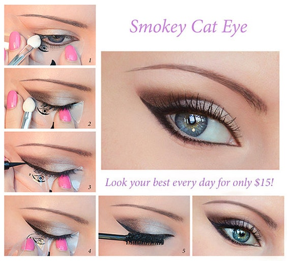 Makeup Eyeliner Stencils - Mugeek Vidalondon