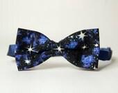 Galaxy Space Cosmos Universe Print Bow Tie