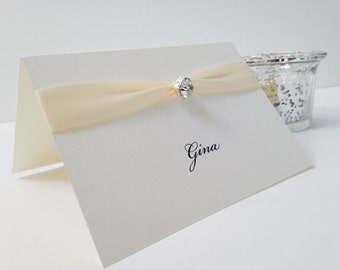 Place Cards, Name Cards, Place Setting, Wedding Place cards, Luxury Place Cards, Place Names, Party Place Cards, Deluxe