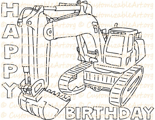 Construction Party Favors Printable Birthday Party