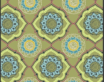 Cotton Fabric by Art Gallery Fabrics  Alhambra II Cashmere Cameo AH427-Garden