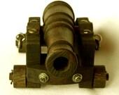 Oak 18th Centuary Replica Naval Cannon