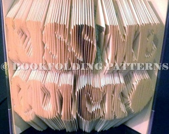 kiss me quick book folding pattern