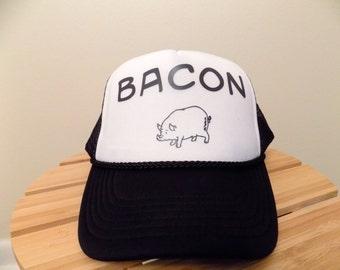 Bacon Lover's Trucker Hat.