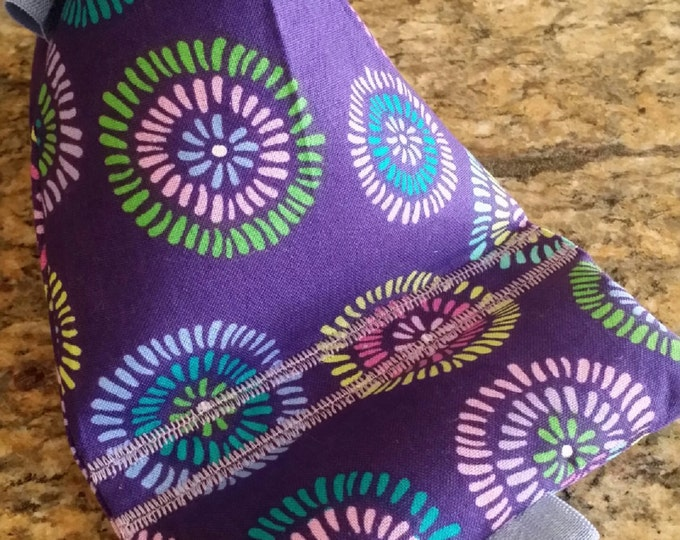 Gadget Bags-Artsy Collection (Purple Star-Burst)