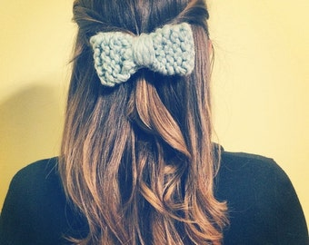 Knitted Bow Elastic