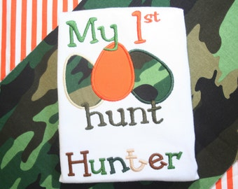 My First Easter Egg Hunt shirt