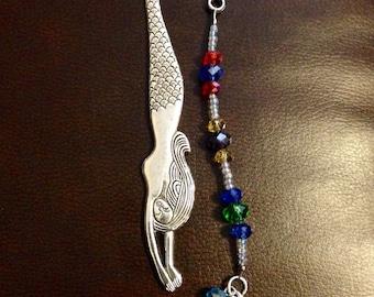 Crystal Mermaid Bookmark