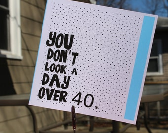 Happy 30th Birthday  // Card