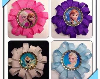 Frozen Hair bows (you pick)