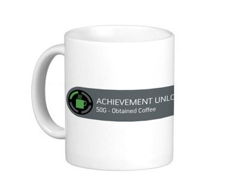 X-Box Achievement Mug - Coffee.