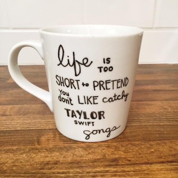 Personalized coffee mug funny mug ceramic quote mug for Taylor swift coffee shop