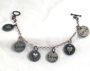 Love Bracelet,love bracelet,bracelet,i love you jewelry,unique bracelet,jewlery with love,unique bracelet,handmade bracelet,love jewelry