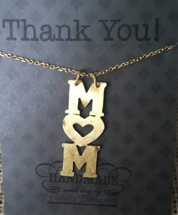 Mothers day gift. Necklaces Mom. Mother