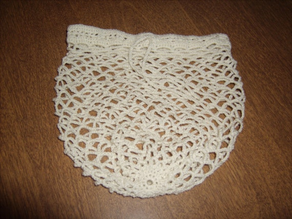Crocheted Delicates/ Lingerie Laundry Bag by PrettyCrochetedGifts