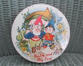 Noddy biscuit or sweet metal tin 1960's or 70's.