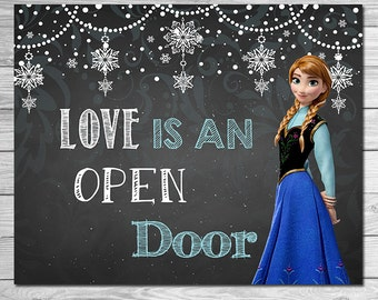 Love Is An Open Door Etsy