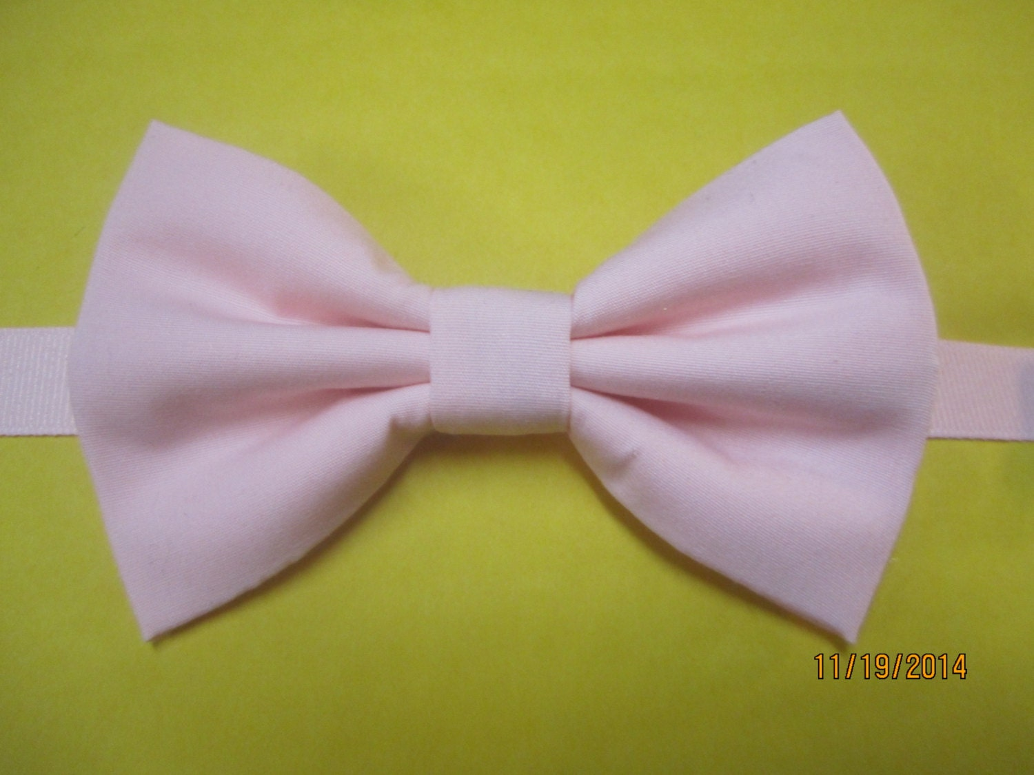 pale baby pink bow tie light pink bow tie blush pink bow