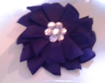 Fancy Purple Hair Clip