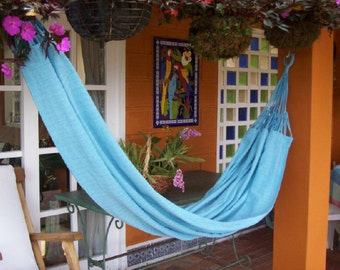 100% Recycled Hammock. This comfy outdoor or indoor hammock is designed for your ultimate comfort and support.