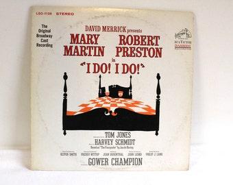 Vintage 1966 I do I do Original Broadway Cast Record Album Wedding decor