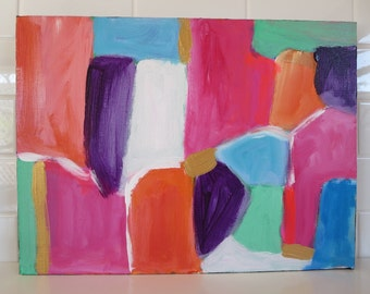 Bright Original Abstract Painting