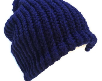 Enna II~ A Beanie Style Hat, Hand Knit & Customizable