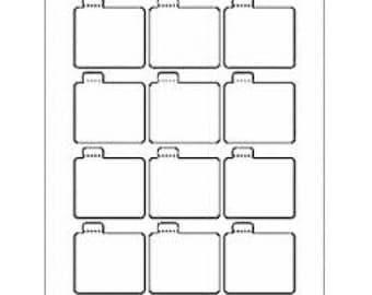 lip balm label templates. Black Bedroom Furniture Sets. Home Design Ideas
