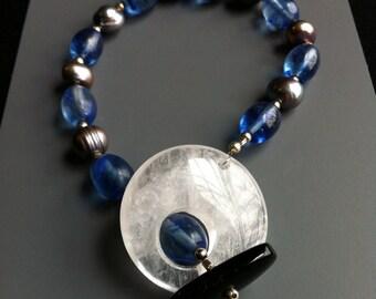 Stone Toggle Bracelet