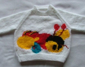 BUZZY BEE Jumper PATTERN for Toddler/Baby